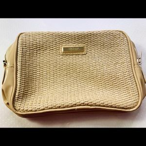 Versace cosmetic bag / Nude / New / Original
